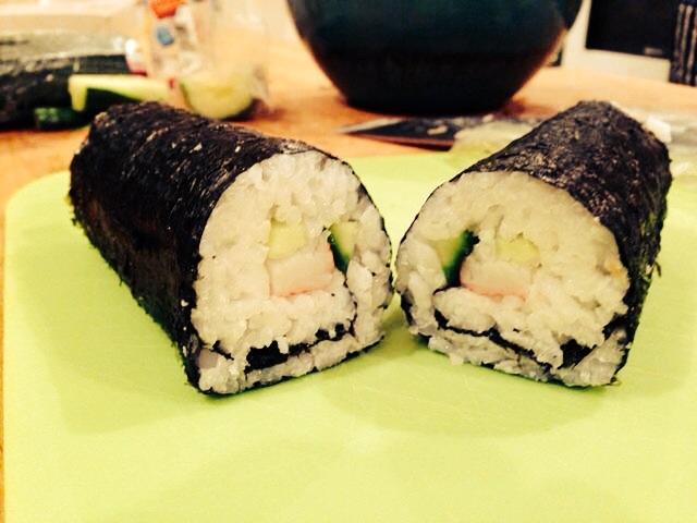 Sushi A Go Go: homemade sushi